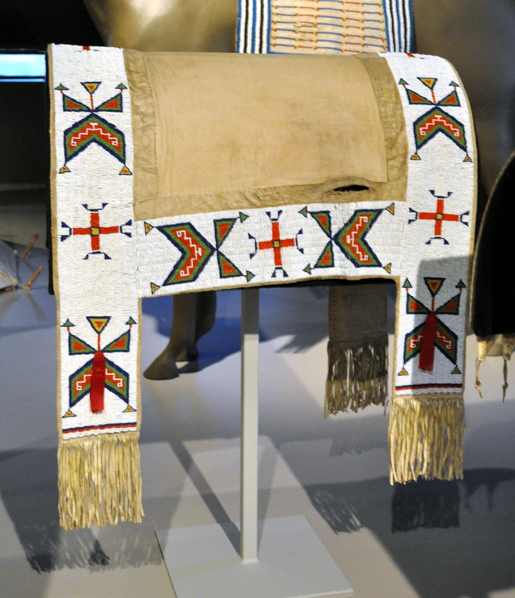 Braymere Custom Saddlery Native American saddles  saddle