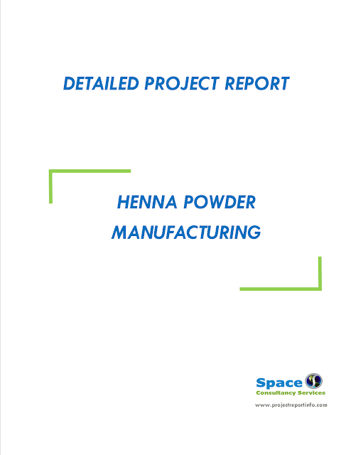 Project Report on Henna Powder Manufacturing