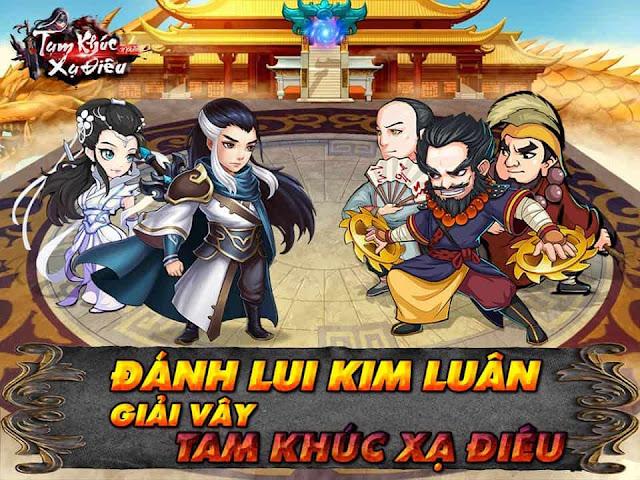 Tam Khúc Xạ Điêu mobile: Game thẻ bài chiến thuật cập bến Việt Nam 0
