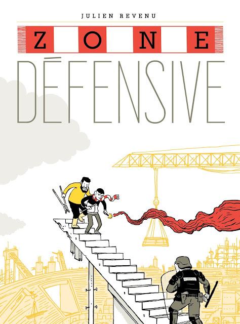 couverture de la BD Zone Défensive