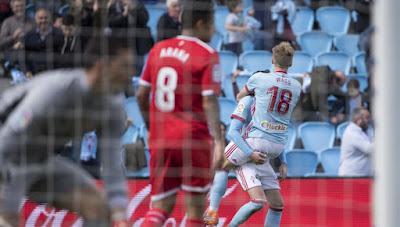 Crónica Celta 4 - Sevilla FC 0