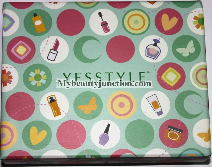 Yes Style Beauty Sampling Box unboxing, review, photos: International beauty box