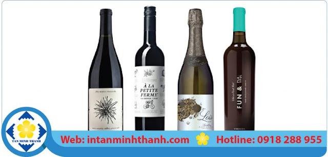 In nhãn rượu tại tphcm