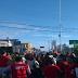 """Em dia de """" greve geral"""" protesto é marcado pra esquina do Midway"""