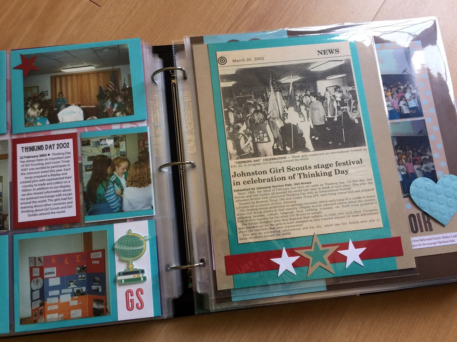 How to make scrapbook binder -  8 5 11 With Memorabilia And A 4 6 Pocket Page Filled With Iowa State Fair Programs And Such The Binders Make This Kind Of Scrapbooking So Easy