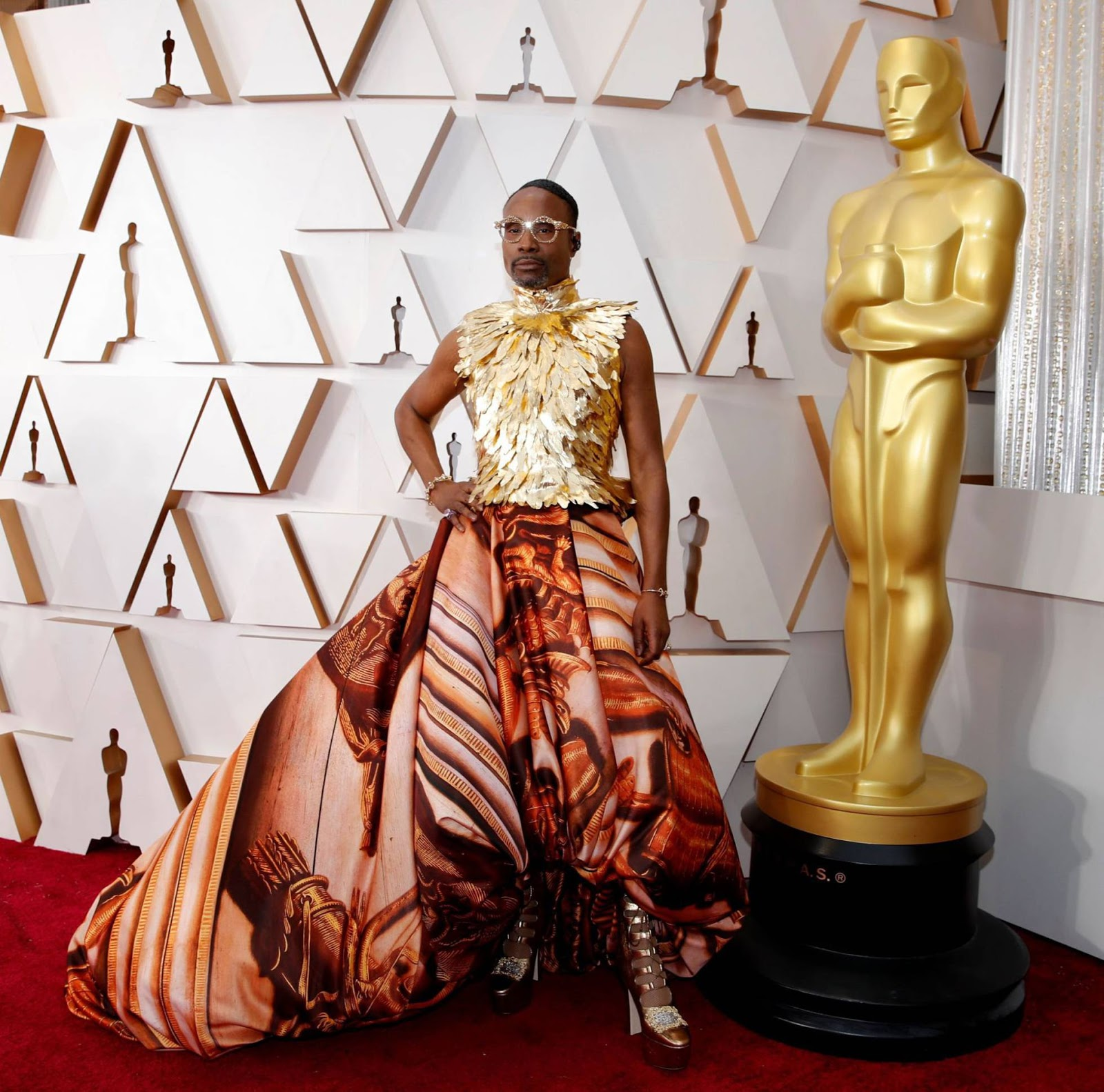 Look Billy Porter oscar 2020