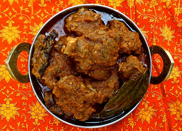 Indian lamb goat spicy easy curry