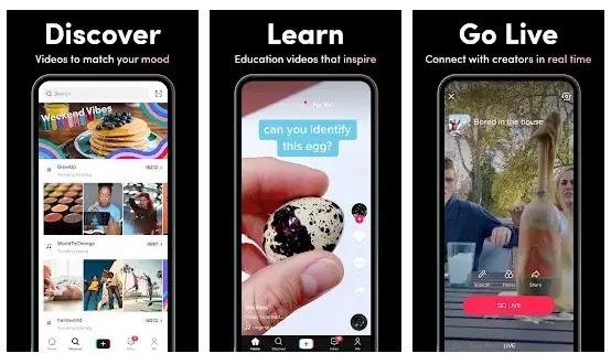 TikTok - Aplikasi sosial media yang lagi trend di kalangan anak muda
