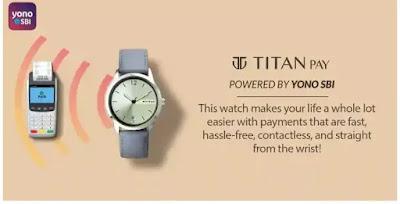 Titan pay smartwatch in hindi