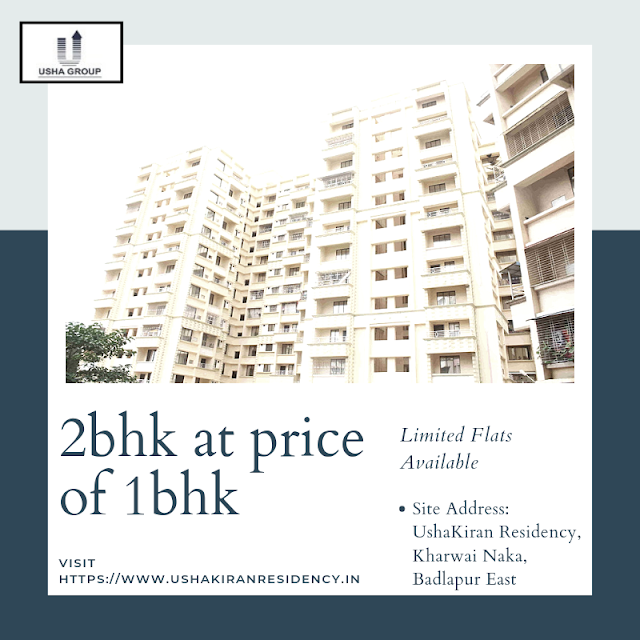Luxury 3 bhk flats at Ushakiran Residency Badlapur