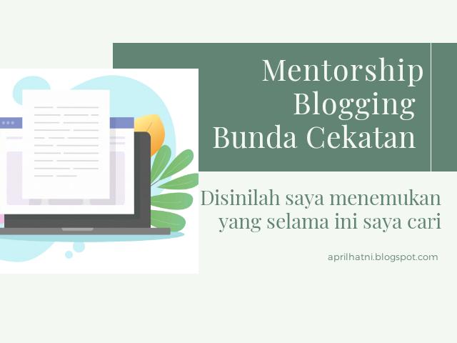 mentorship blogging Ibu Profesional
