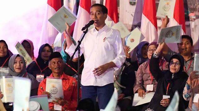 Jokowi: Sertifikat Tanah Bisa Jadi Agunan untuk Gerakkan Ekonomi