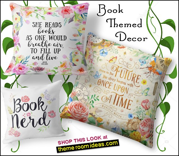 book quotes throw pillows book bedroom decorating ideas book themed room decor