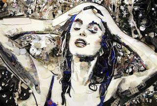 pinturas-con-figura-humana-arte-compuesto-de-reciclaje cuadros-figurativos-pintura-arte