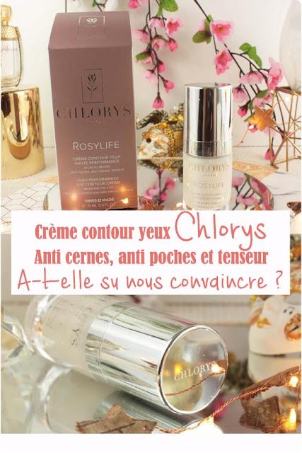 Crème contour yeux Rosylife  Chlorys