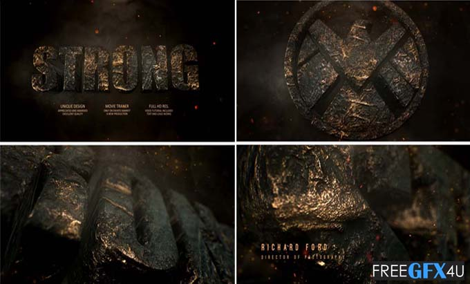 Videohive - Epic Trailer And Logo Reveal