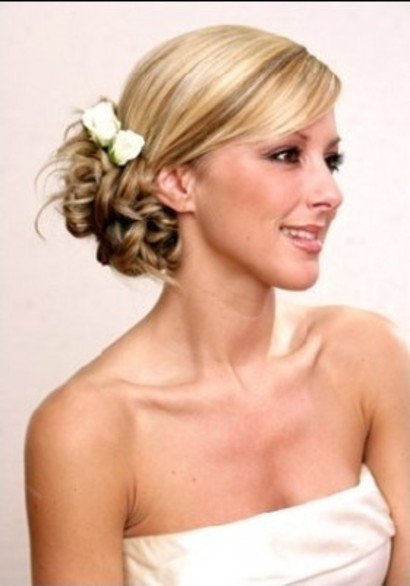 cool hairstyles bridesmaid