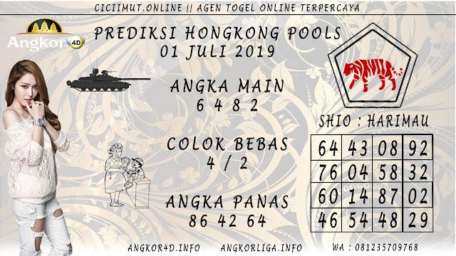 PREDIKSI HONGKONG POOLS 01 JULI 2019