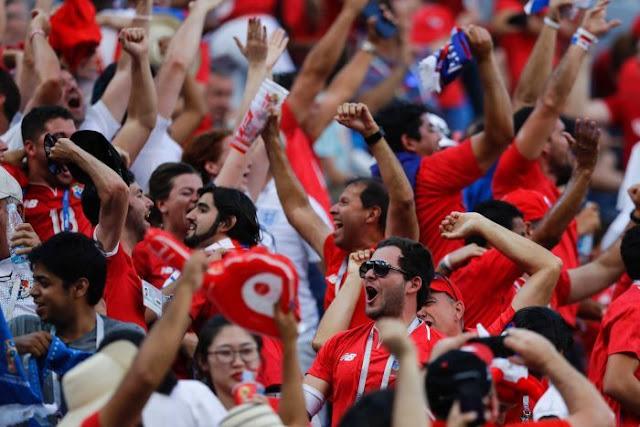 Thua thảm ĐT Anh, Panama vẫn ăn mừng như vô địch 1