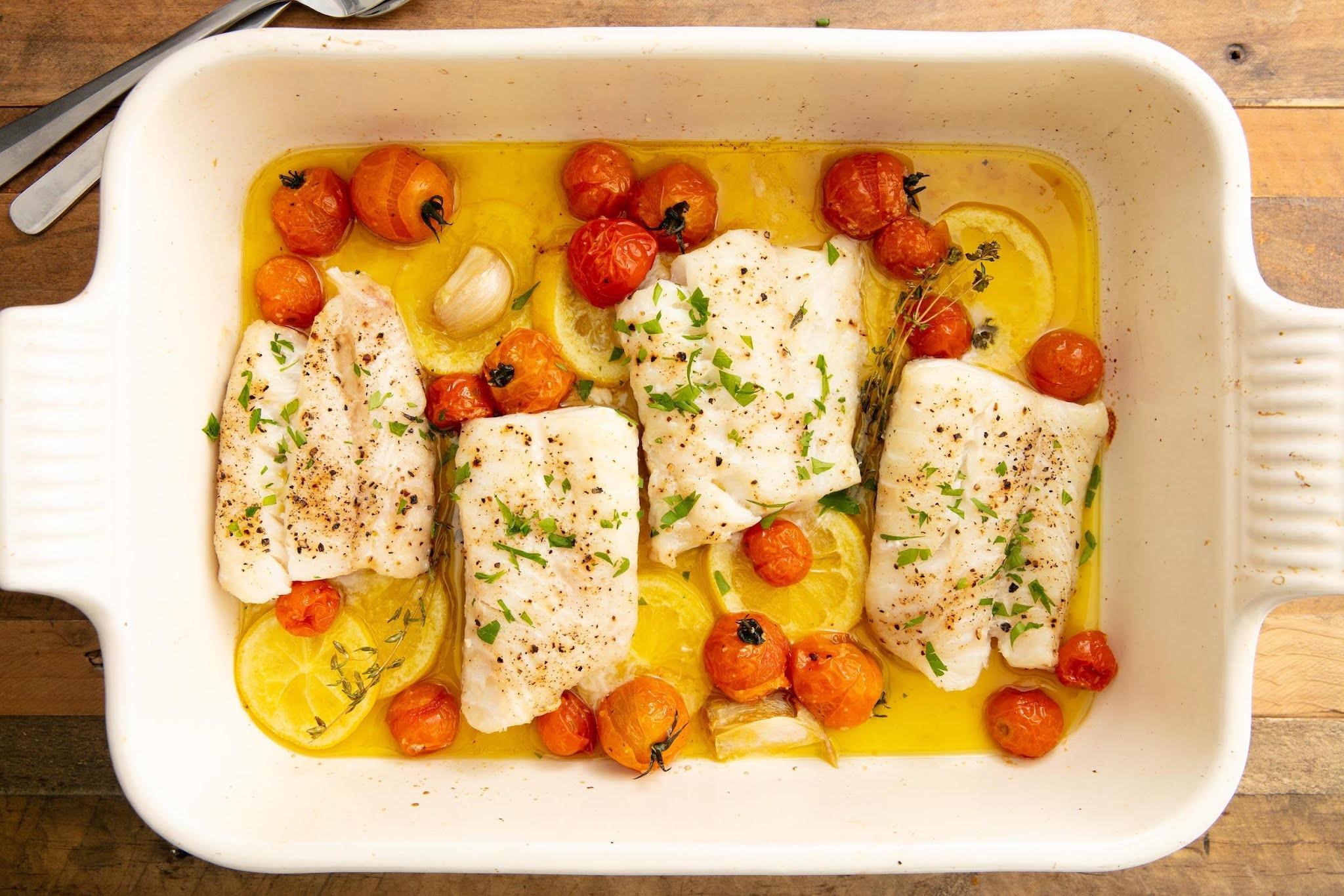 ikan kod - seafood untuk diet pemuda