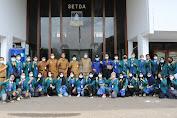 Sekda Kabupaten Serang Minta KKN Mahasiswa Unila agar Laksanakan Prokes