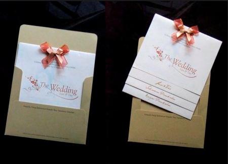 32 Contoh Desain Undangan Pernikahan Simple Dan Elegan Terbaru