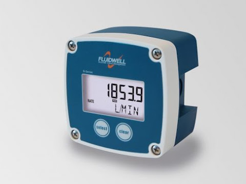 Fluidwell B Series Flow rate indicators and Batch Control