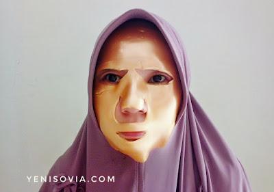 cara menggunakan masker wajah
