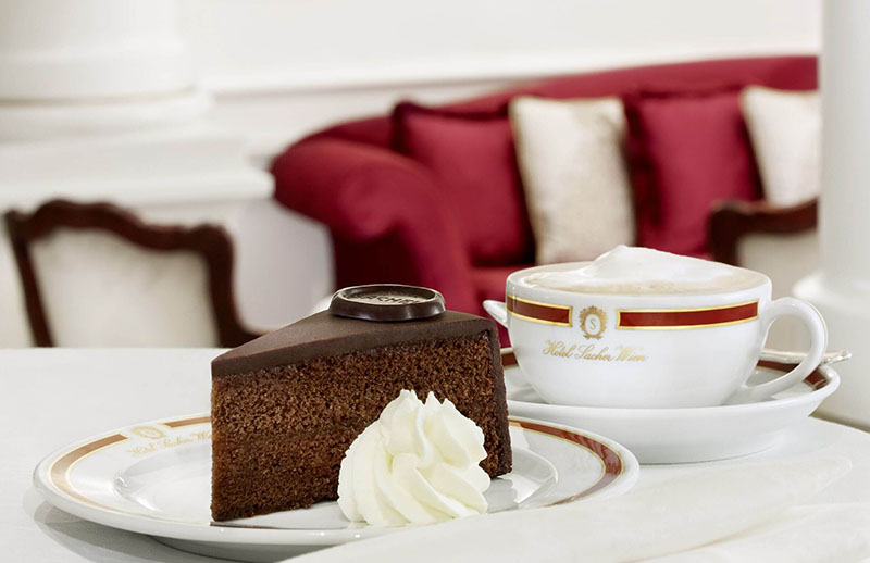 Sacher Torte and coffee, 5 Reasons to Visit Vienna: Living the Good Life in Austria