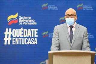 Jorge Rodríguez superó el Covid-19