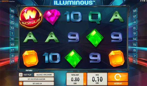 Main Slot Gratis Indonesia - Illuminous (Quickspin)