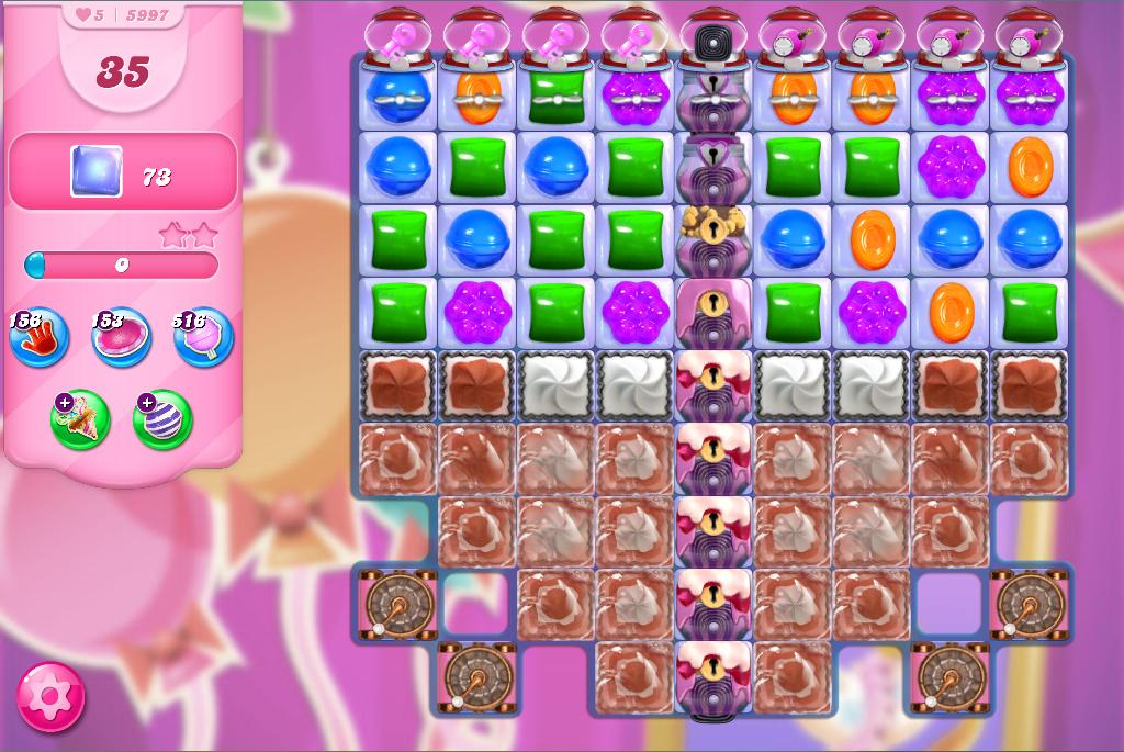 Candy Crush Saga level 5997