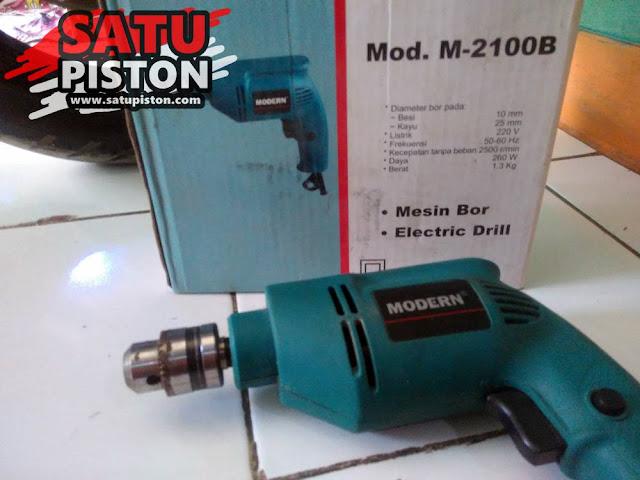 ReVIEW Spesifikasi Bor Listrik Modern M2100B