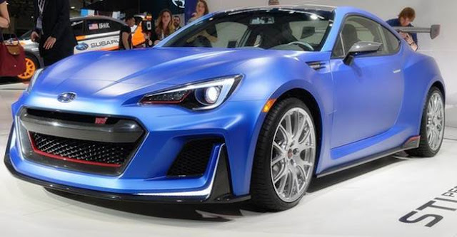 2018 Subaru BRZ STI Specs and Price