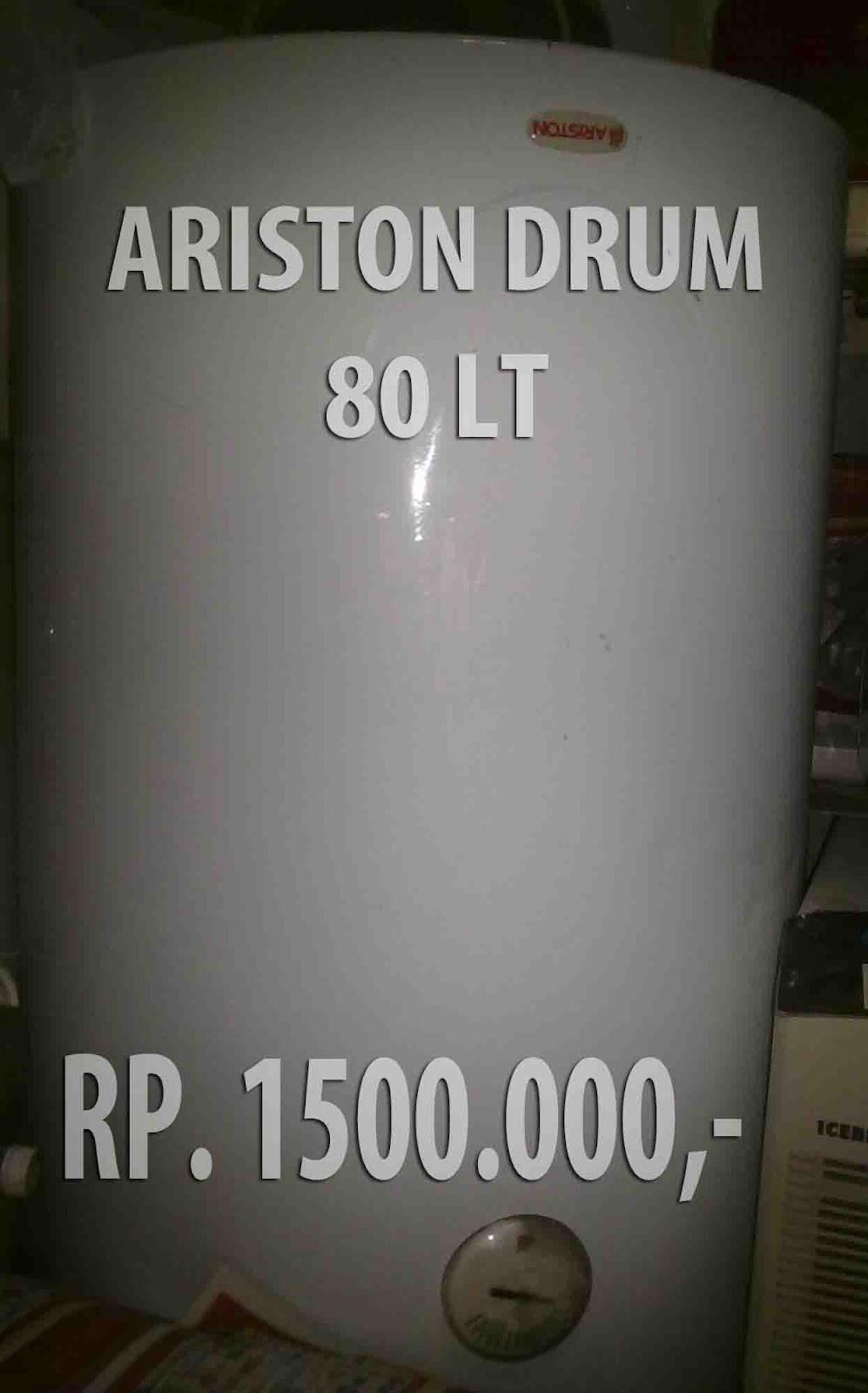 gambar pemanas air listrik merk ariston tabung second
