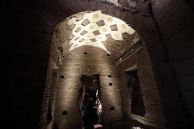 Εντυπωσιακές φωτογραφίες από το παλάτι του Νέρωνα – Άνοιξε και πάλι για το κοινό