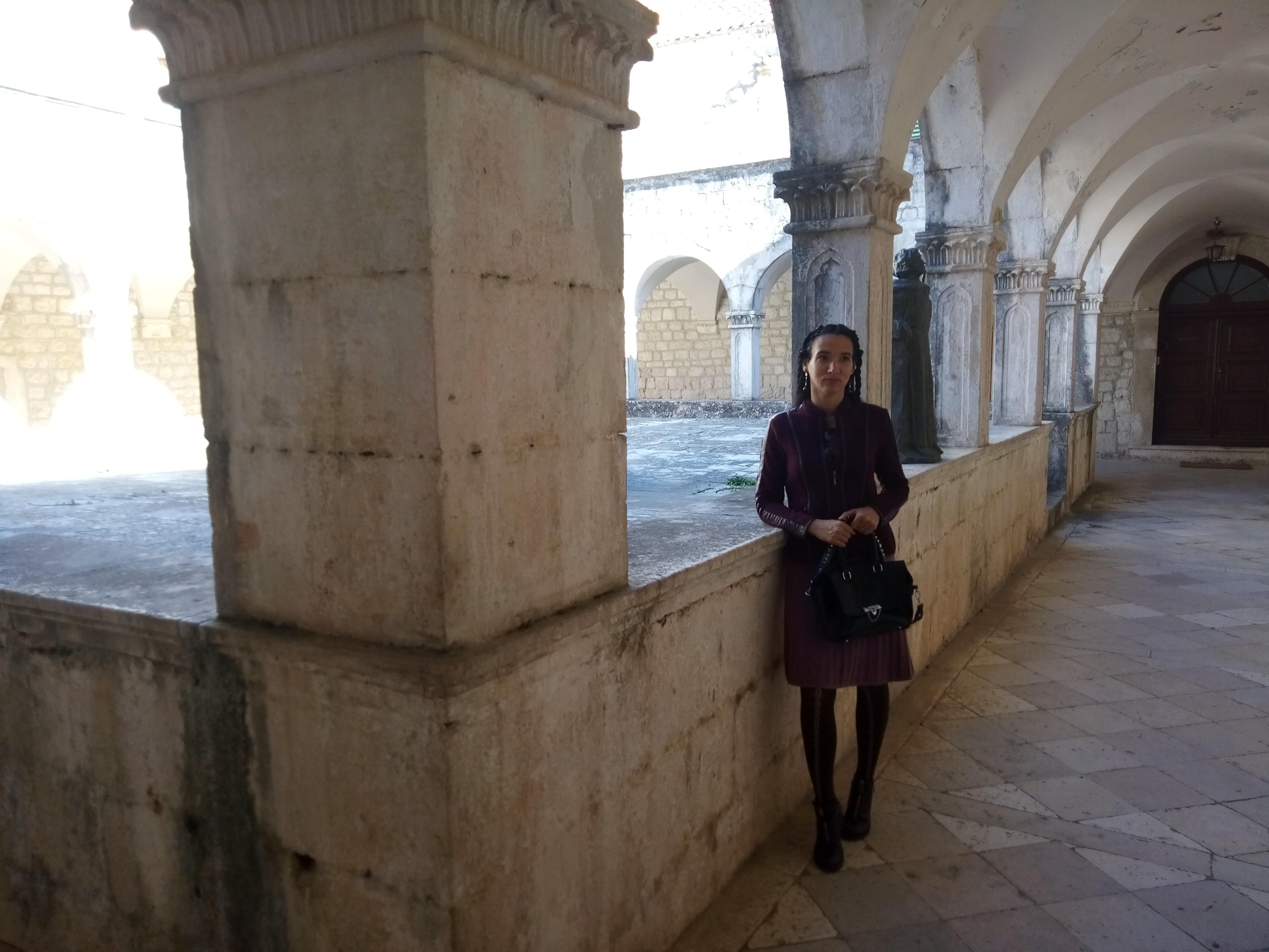 inside of a Franciscan monastery hvar