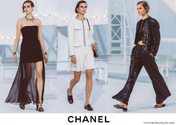 Chanel Spring Summer 2021 Ready-to-Wear Collection Charlotte Casiraghi