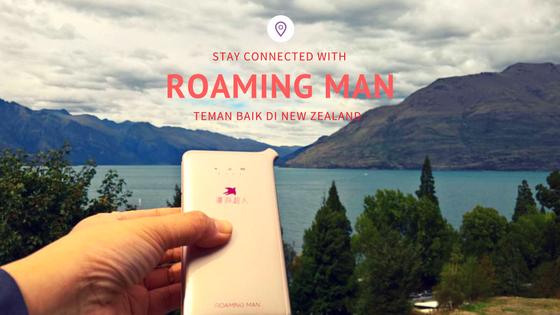 Mr Roaming Man teman baik di New Zealand