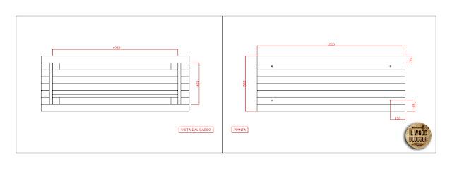 Progetto tavolo da falegname