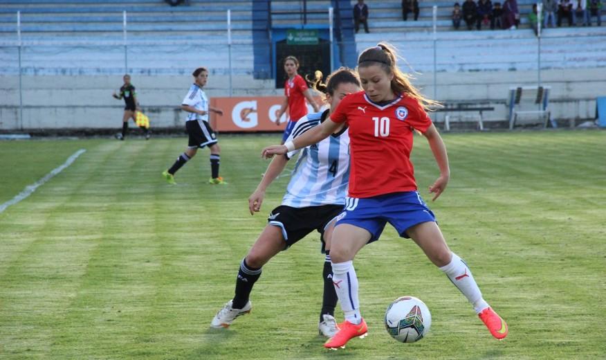 Argentina y Chile en Copa América Femenina 2014, 12 de septiembre