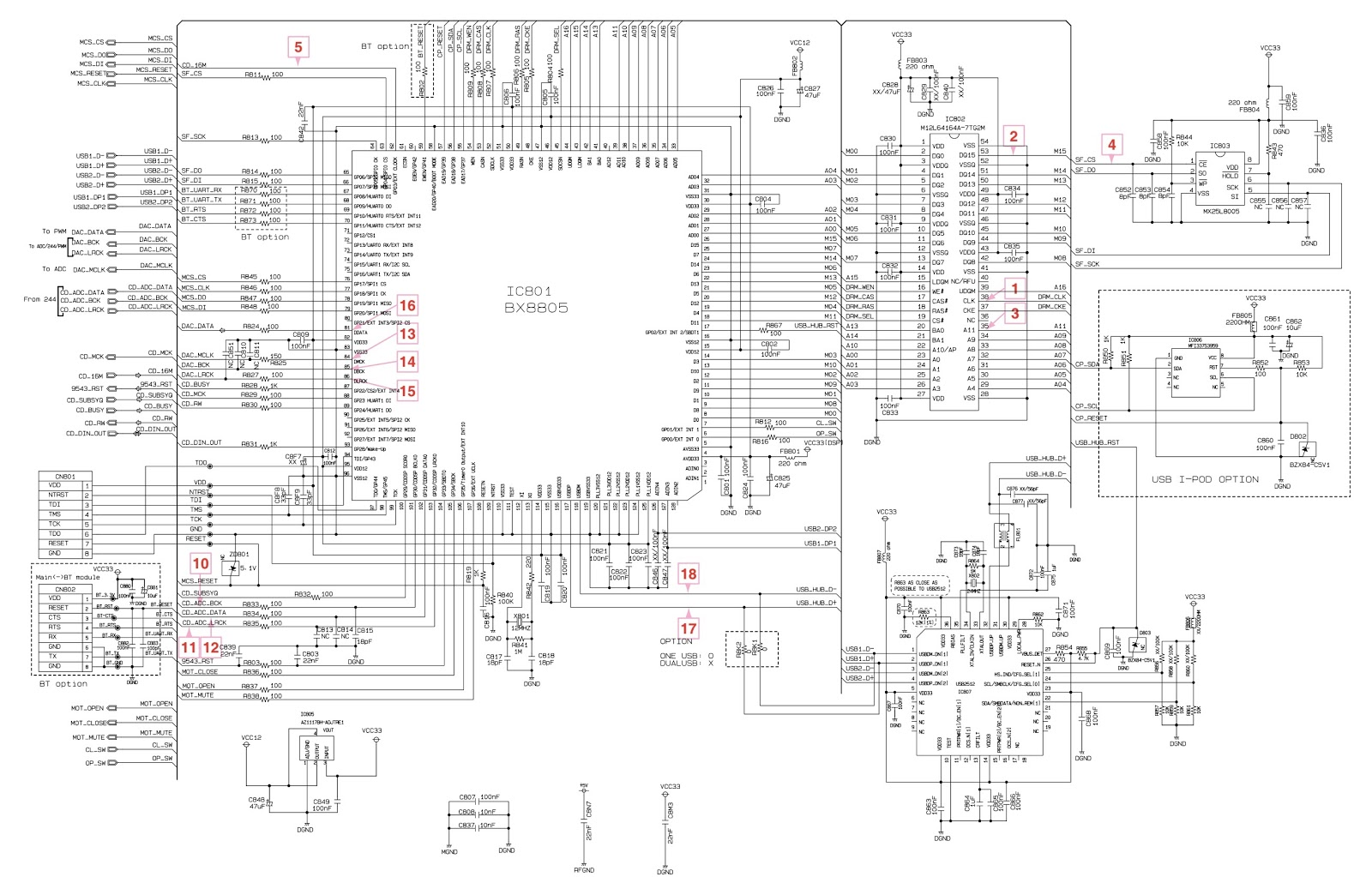 Lg Cm4530 Smps Dsp And Power Amplifier Schematic Mosfet Circuit Diagrams Ice2gs03 Switching Control Spa04n80c3