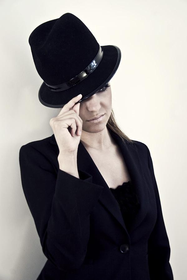 Black Suit Hat