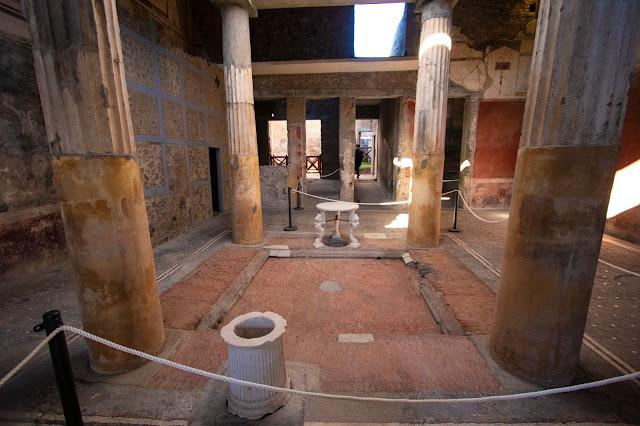 Casa dei Cei-Scavi di Pompei