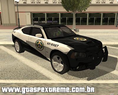 Dodge Charger Políca do Rio - Velozes e Furiosos 5 para GTA San Andreas