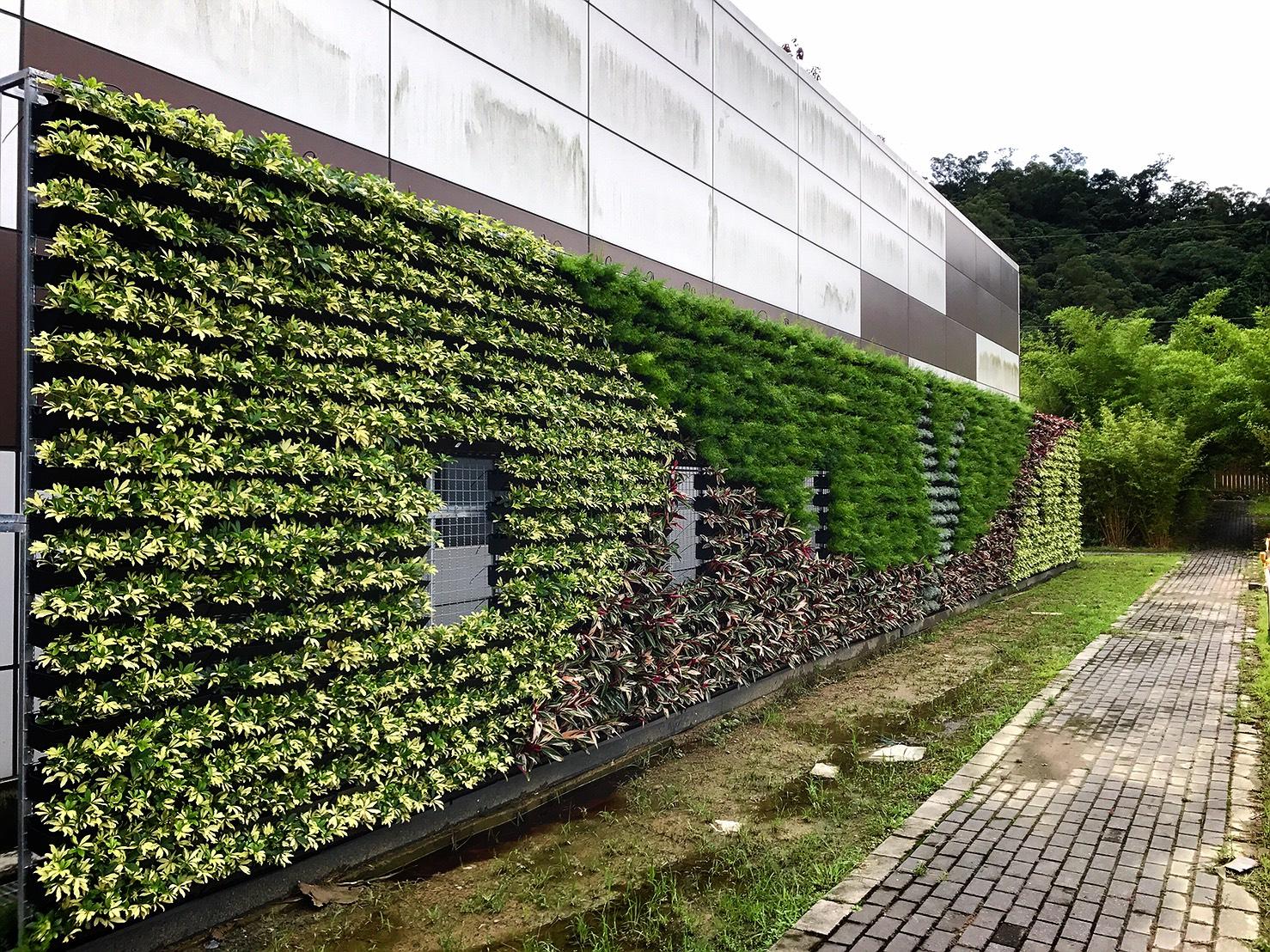 威明谷GreenWall【創新的模組化綠牆】立體植栽牆(植生牆.花牆.綠圍籬): 七月 2017