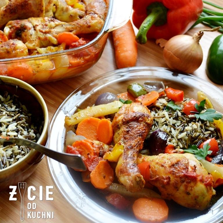 kurczak z warzywami, pazdziernik sezonowe owoce pazdziernik sezonowe warzywa, sezonowa kuchnia, pazdziernik, zycie od kuchni