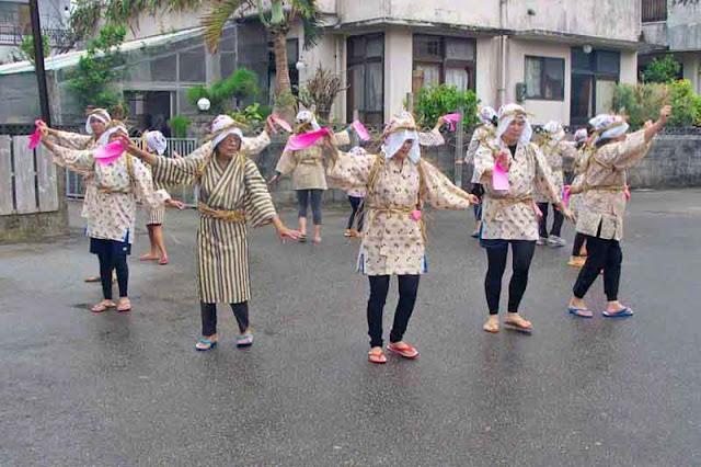 dance, festival, Ogimi, Okinawa, women