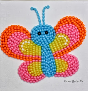 http://www.repeatcrafterme.com/2014/04/pony-bead-butterfly.html