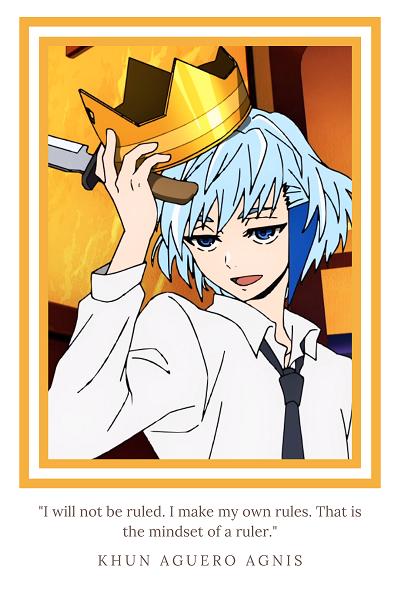 """Tower of God anime """"Khun Aguero Agnis"""""""
